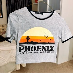 Phoenix Cropped T-Shirt
